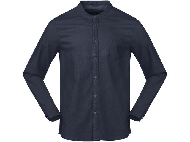 Bergans Oslo Shirt Men Dark Denim